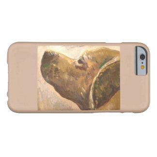 Pintura del perro del laboratorio de Van Gogh Funda De iPhone 6 Barely There