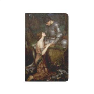 Pintura del Pre-Raphaelite del Lamia por el Waterh Cuadernos