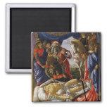 Pintura del renacimiento de Botticelli Imán De Frigorifico