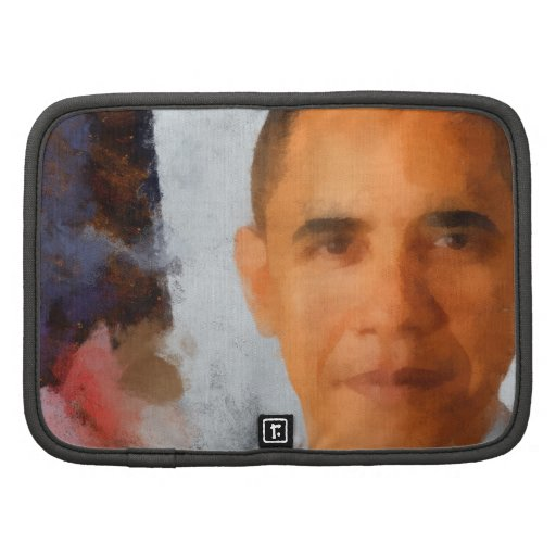 Pintura del retrato de Obama Organizador