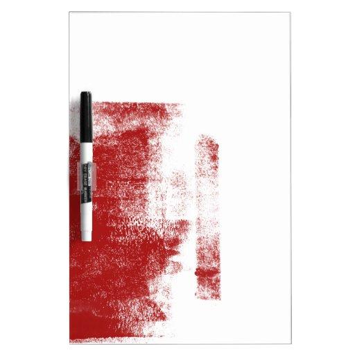 Pintura del rojo del Grunge Pizarras