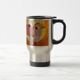 Pintura del Senecio de Paul Klee Taza Térmica