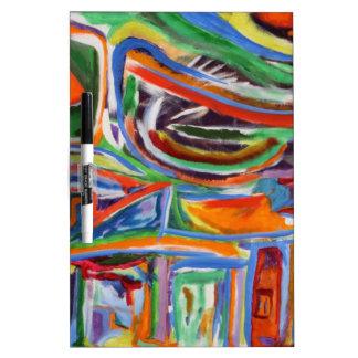 """Pintura del Synesthesia """"del Paseo"""" Pizarra"""