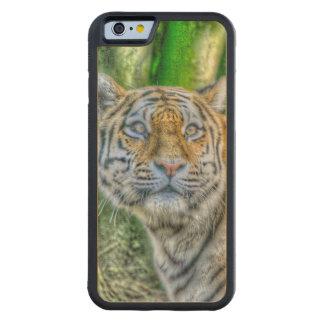 Pintura del tigre funda de iPhone 6 bumper arce