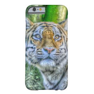 Pintura del tigre funda de iPhone 6 barely there