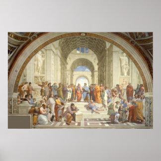 Pintura del trabajo de arte de Raphael Póster