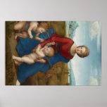 Pintura del trabajo de arte de Raphael Posters
