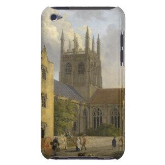 Pintura del vintage de la universidad Oxford Ingla iPod Touch Cobertura