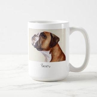 Pintura del Watercolour de una taza del perro del