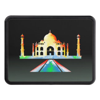 Pintura del Watercolour del Taj Mahal Tapas De Tráiler