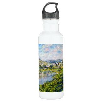 Pintura del waterscape del paisaje de Vetheuil