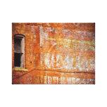 Pintura descolorada, muestra del fantasma lona estirada galerias