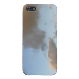 Pintura doble del arco iris iPhone 5 fundas