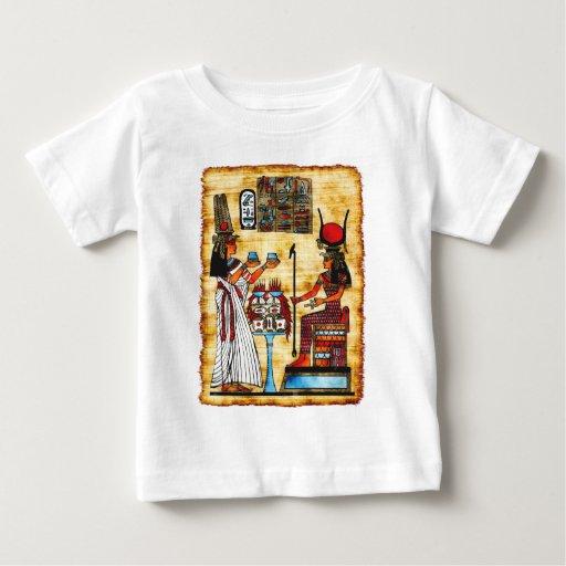 Pintura egipcia playera de bebé