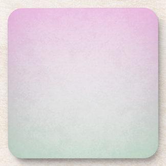 pintura en colores pastel abstracta posavasos de bebida