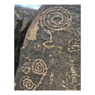 """Pintura en las rocas folleto 8.5"""" x 11"""""""