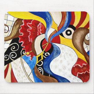 Pintura española del arte abstracto alfombrilla de raton