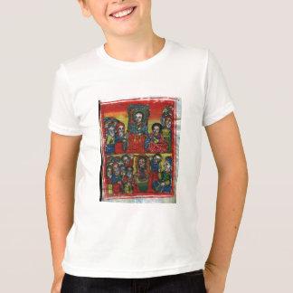 Pintura etíope de la iglesia - camiseta para los