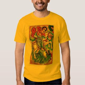 Pintura etíope de la iglesia - santo Gabreal Kidus Remera