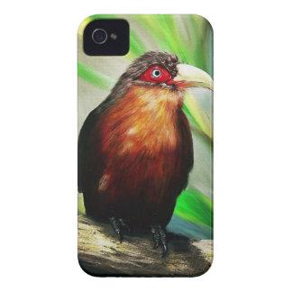 Pintura exótica colorida fresca del pájaro tropica