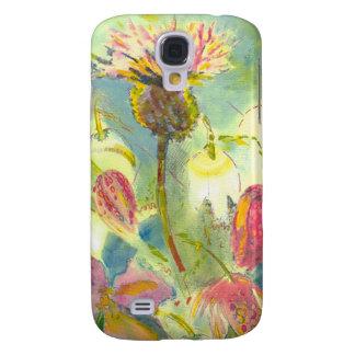 Pintura floral inglesa de las flores salvajes