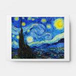Pintura fresca de Vincent van Gogh de la noche est