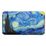 Pintura fresca de Vincent van Gogh de la noche est iPod Touch Carcasas