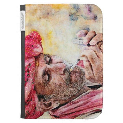 Pintura fresca del retrato de la acuarela de Sr. S