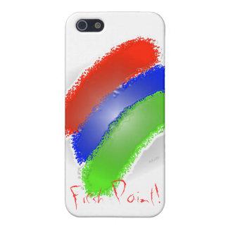 Pintura fresca I 4 iPhone 5 Carcasas