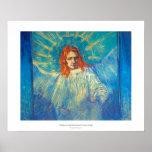 Pintura gloriosa del arte hermoso del ángel de Van Posters
