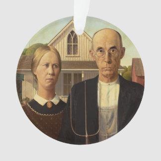 Pintura gótica americana de la bella arte de Grant