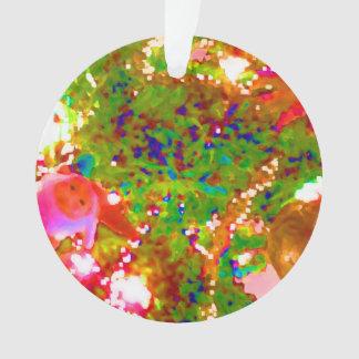 pintura gráfica abstracta de neón del día de