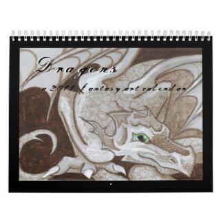 Pintura grande 2011 del ojo del calendario del art