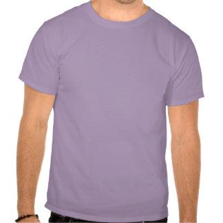 Pintura gris púrpura de la nube del embudo del camisetas