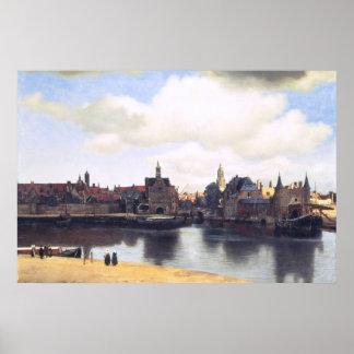 Pintura holandesa de Vermeer del artista Impresiones
