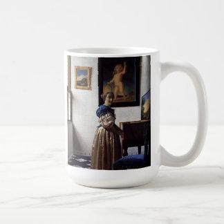 Pintura holandesa de Vermeer del artista Taza