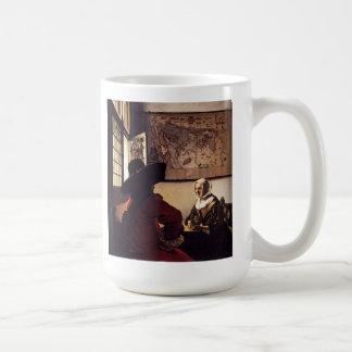 Pintura holandesa de Vermeer del artista Taza De Café
