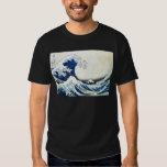 """Pintura japonesa """"de la gran onda"""" por Hokusai Playera"""