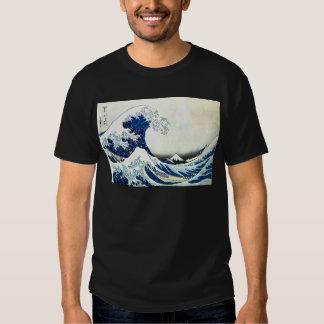 """Pintura japonesa """"de la gran onda"""" por Hokusai Poleras"""