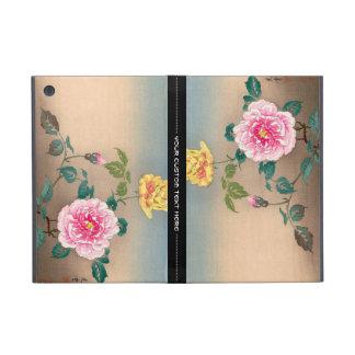 Pintura japonesa de las flores de Tsuchiya Koitsu  iPad Mini Protector