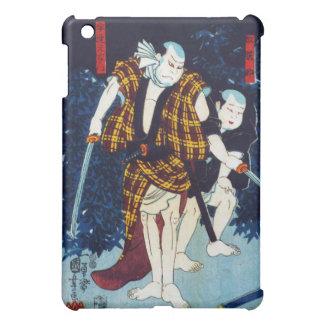 Pintura japonesa de Ukiyo-e de dos jugadores de