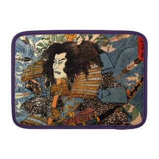 Pintura japonesa del samurai de Ukiyo-e del Funda Macbook Air