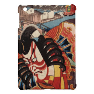 Pintura japonesa del vintage - actor de Kabuki