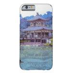 Pintura japonesa oriental fresca del templo del funda de iPhone 6 barely there
