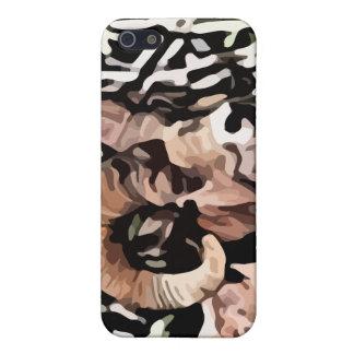 pintura larga de las ovejas del cuerno iPhone 5 coberturas