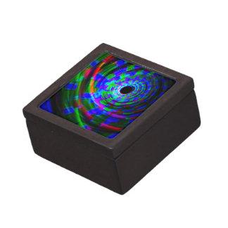 Pintura ligera espiral abstracta caja de regalo de calidad