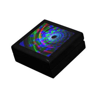 Pintura ligera espiral abstracta caja de regalo