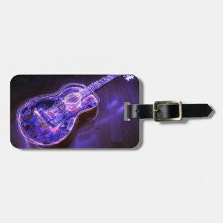Pintura ligera: guitarra - etiquetas bolsas