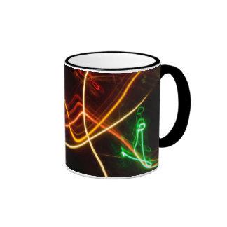 pintura ligera taza de café