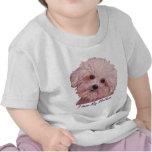 """Pintura maltesa del """"prado"""" en desgaste infantil camiseta"""